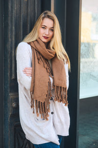 Willow Tassel Scarf