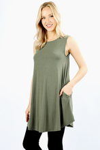 Load image into Gallery viewer, Jane Tunic Tank