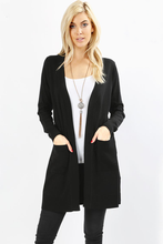 Load image into Gallery viewer, Autumn Open Front Sweater Cardigan