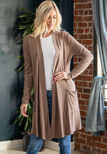 Load image into Gallery viewer, Ashlee Slouchy Pocket Cardigan