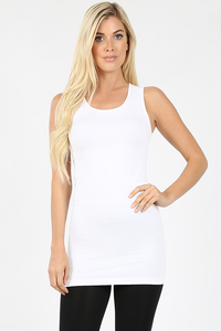Not So Basic Seamless Wide Strap Cami
