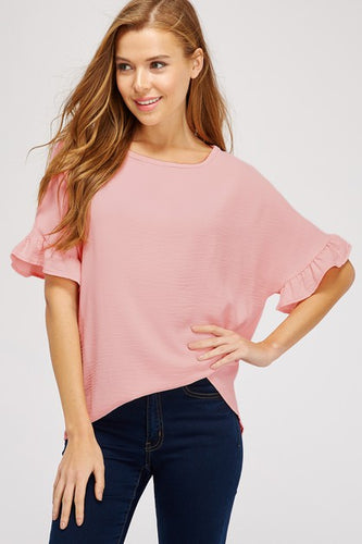 Brielle Ruffle Sleeve Top