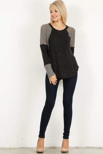 Kennedy Color Block Top