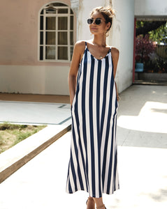 Riley Stripe Maxi Dress