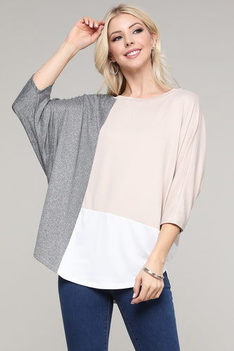 Bailey Color Block Top