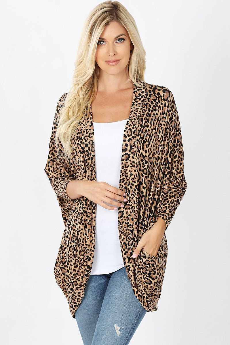 Kourtney Leopard Cardigan