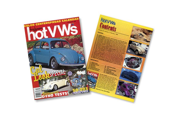 Hot VWs Magazine - 1996年(12冊セット)