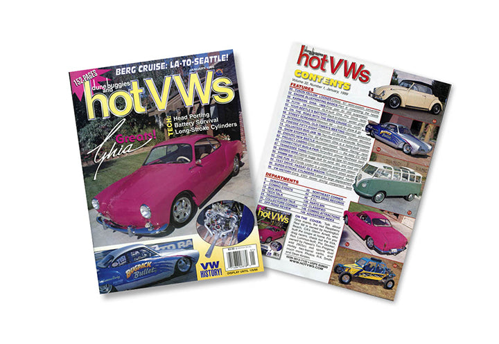 Hot VWs Magazine - 1999年(9冊セット)