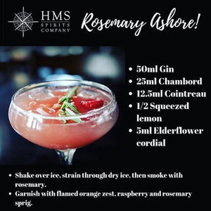 The Rosemary Ashore Cocktail