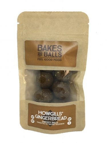 Howgill's Gingerbread Energy Balls