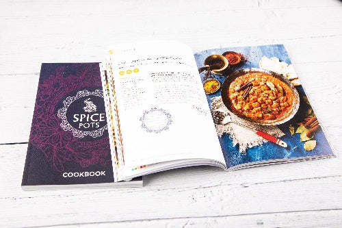 Spice Pots cook Book Main