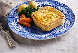 Country Cottage Square Pie
