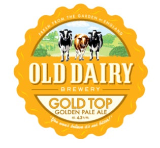 Gold Top Golden Pale Ale 12 x 500 ml bottles