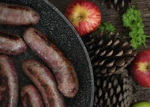 Grouse & Wild Boar Sausages -400g