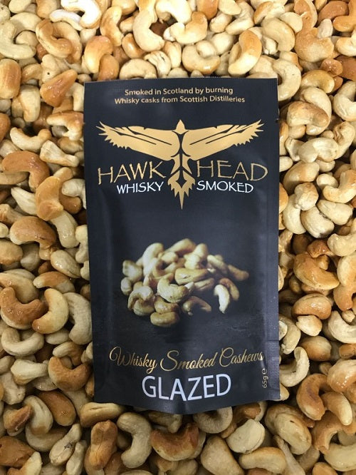 Whisky Smoked Cashews - Glazed