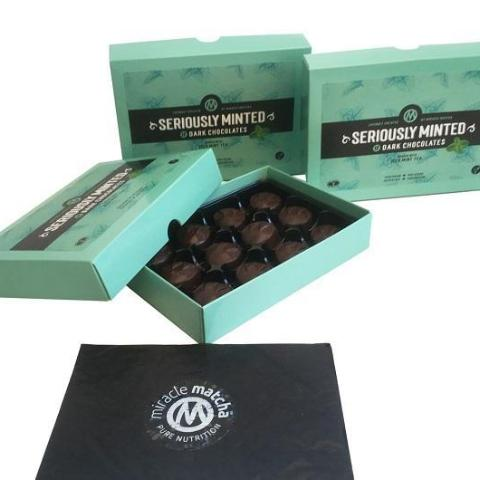 Seriously Minted & Seriously Zested Dark Chocolates