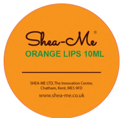 Orange Lips Shea Body Butter 10ml
