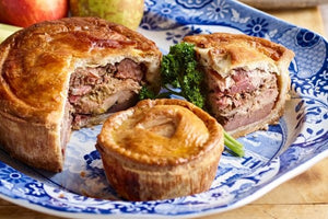Grouse & Pheasant Layered Pie