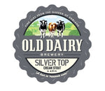 Silver Top Cream Stout  12 x 500 ml bottles