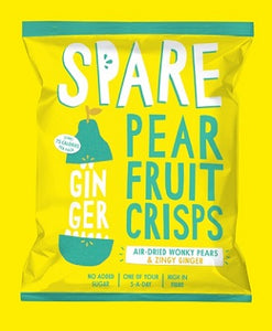 Spare Snacks Pear & Ginger  (15 bags)