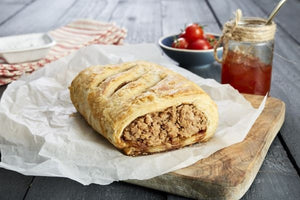 Steak & Pheasant Sausage Roll