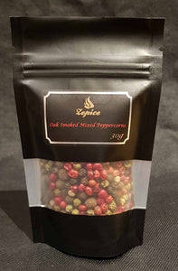 Oak Smoked 5 Mixed Peppercorns - Pouch