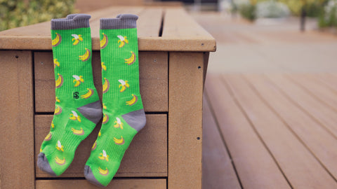Green Banana Performance Socks