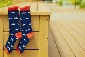 Wizard's Stache Performance Socks