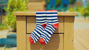 Striped Performance Socks