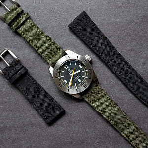 Canvas/Leather Strap