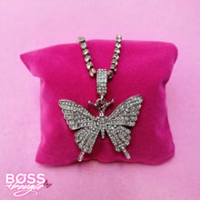 Load image into Gallery viewer, Glam Butterfly Necklace