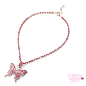 Glam Butterfly Necklace