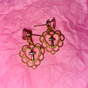 Love Christ Earrings