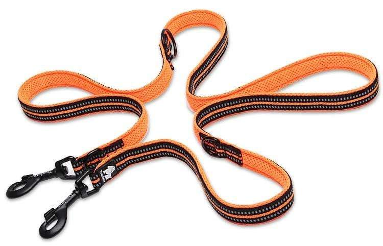Reflective Double Dog Leash