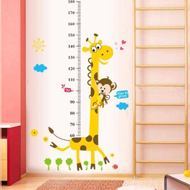 Kids Wall Sticker Height Chart
