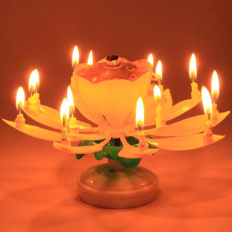 Magic Musical Birthday Candle