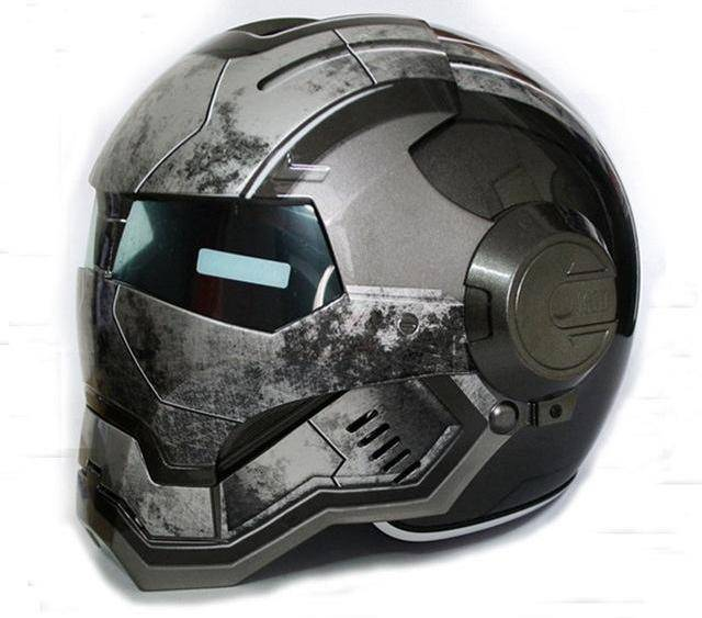 Iron Man Motorcycle Helmet