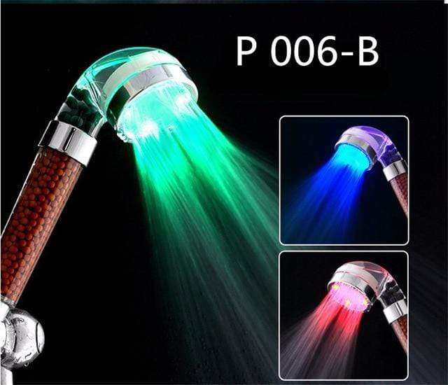 Shower Head Filter with LED Light