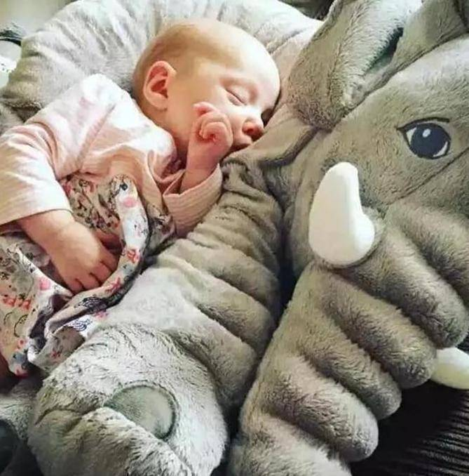 Huge Elephant Pillow Plush Toy Doll