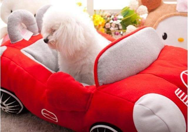 Car Shaped Pet Bed