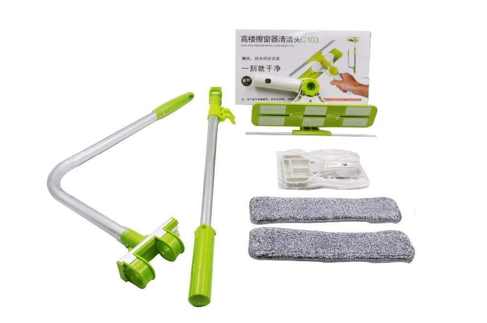 Telescopic Window Glass Cleaner
