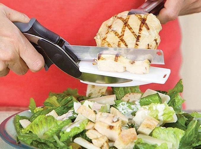 Multi-Purpose Food and Vegetable Cutter with Chopping Board