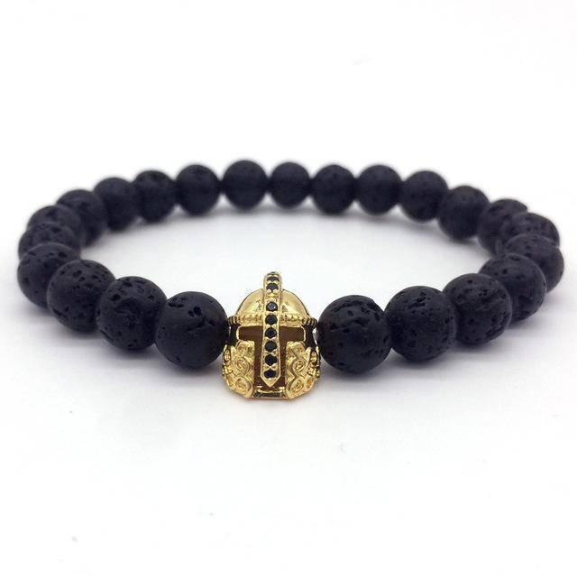 Lava Stone Bracelet For Men Or Women