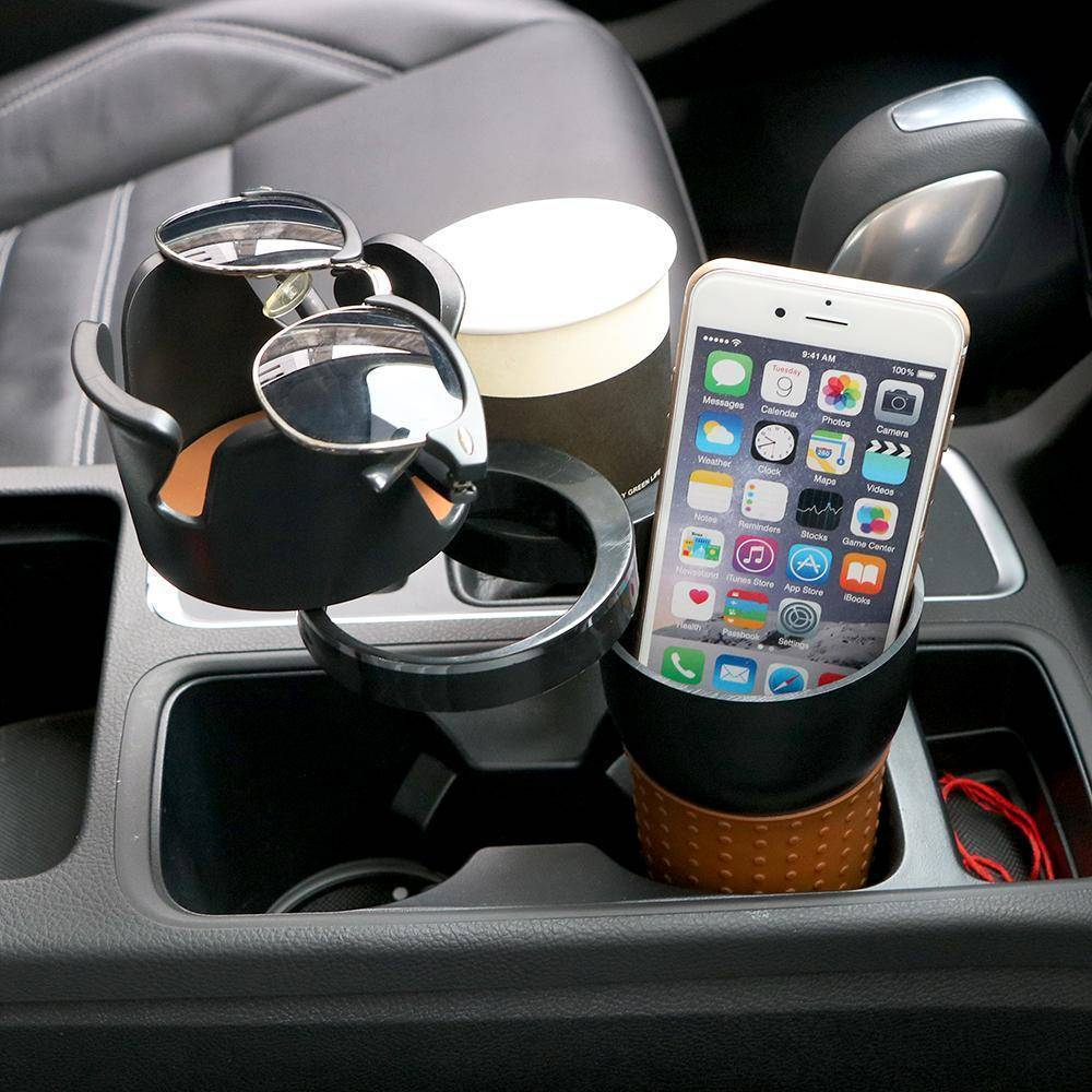 Multi-Purpose Car Cup Holder