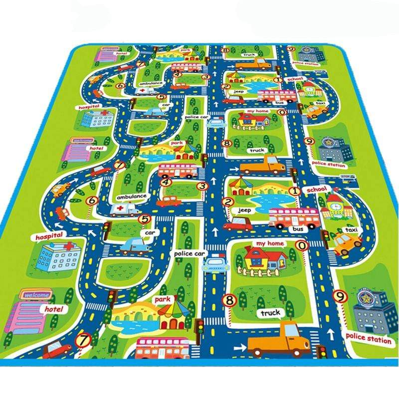 City Baby Floor Mat