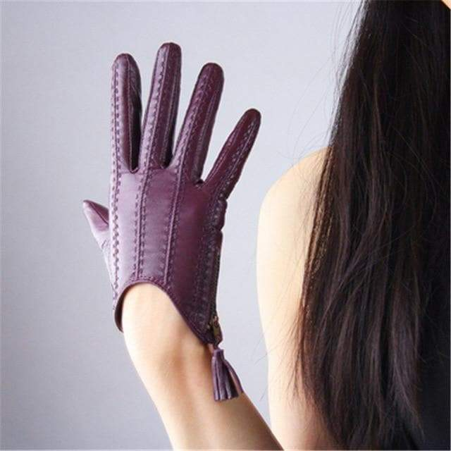 Short Sheepskin Gloves