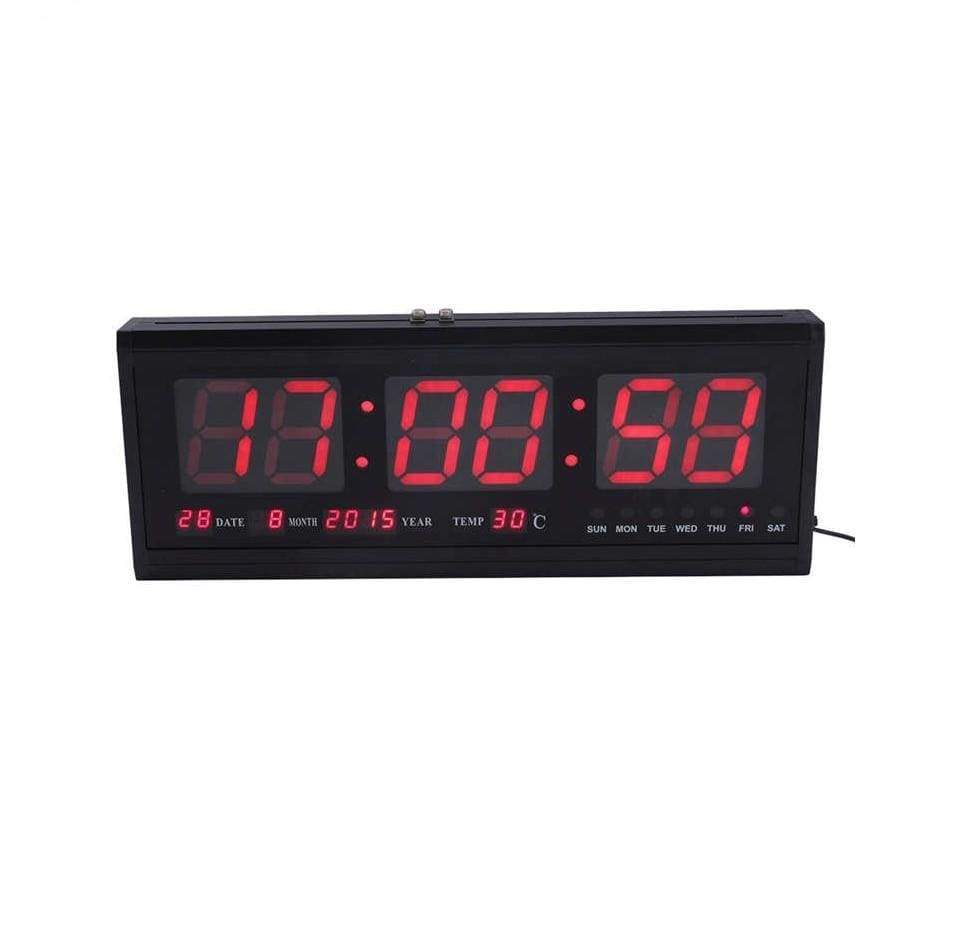 Big LED Digital Wall Clock Calendar