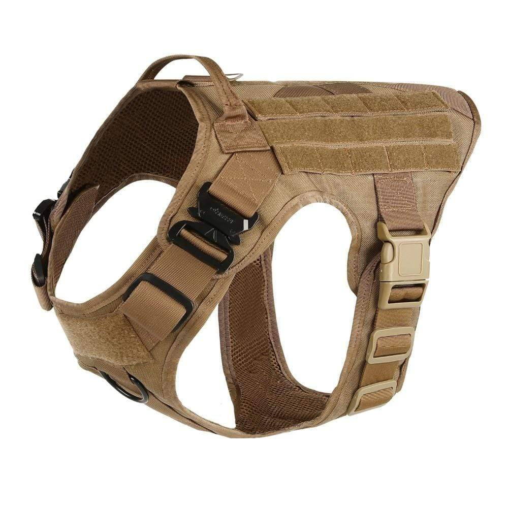 Military Tactical No Pull Dog Harness
