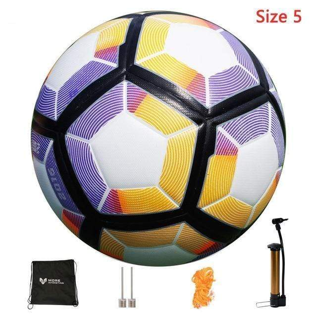 Seamless Soccer Ball with Pump