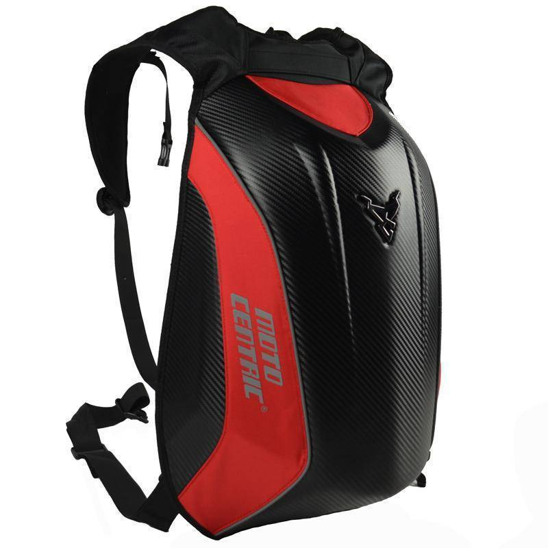 Carbon Fiber Waterproof Motorcycle Backpack